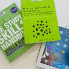 Picture of Academic skills book and tablet