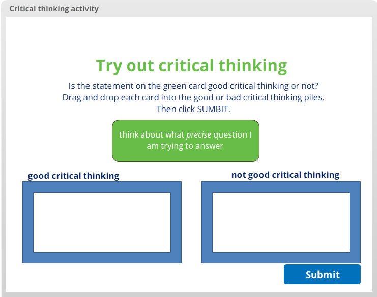 Link to open drag and drop activity about critical thinking. The item after this one is a Microsoft Word version of this activity.